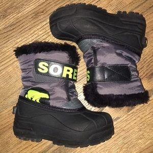 Barely worn SOREL kids boots